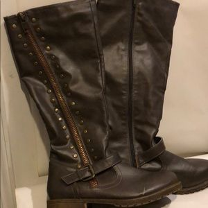 Monterey over the knees brown boots size 9